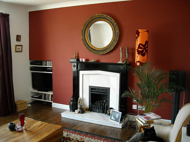 dramatic colour schemes for moody living rooms - Living Room Colour Schemes 2011