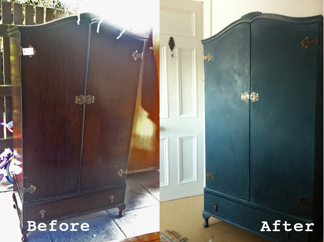 Wardrobe Makeover By Nina S Apartment In Annie Sloan