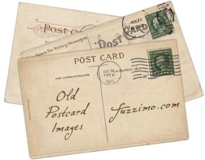 free printable vintage images postcards