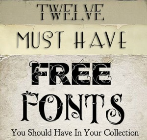 free retro vintage type fonts