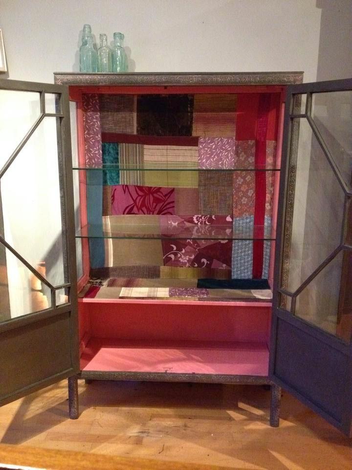 upcycling project vintage kimono