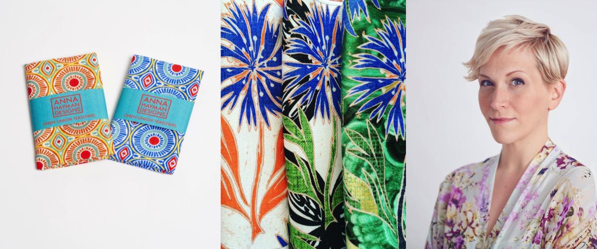Anna Hayman British designer
