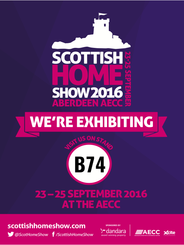 scottish home show flyer and stand number