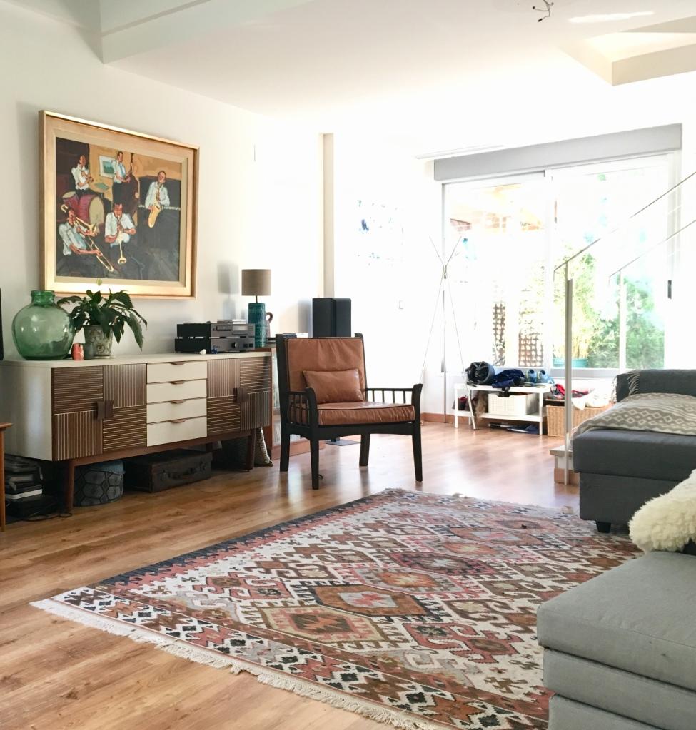 boho decor in new house