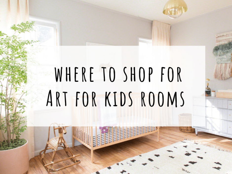 buy art for kids rooms