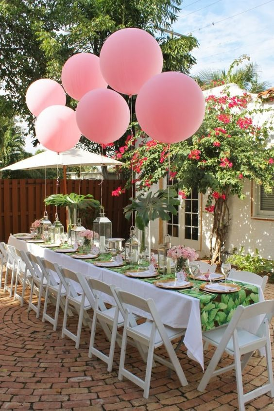 beautiful garden party ideas