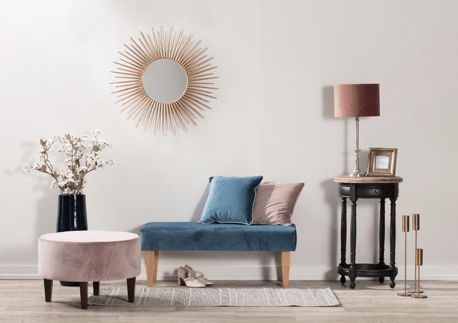 velvet in home decor
