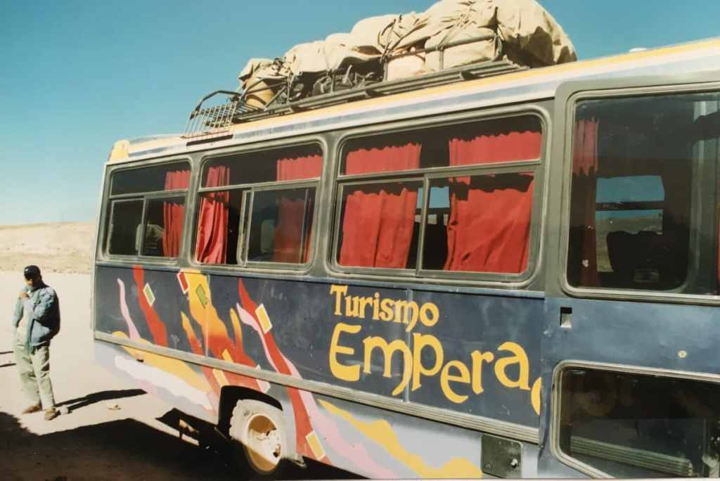 Bus in Bolivia