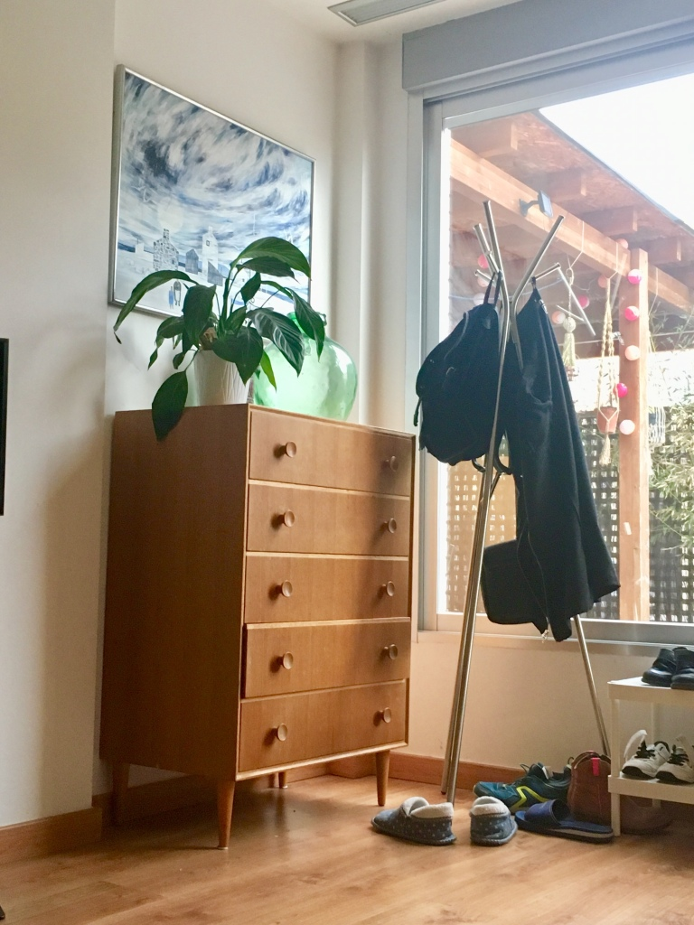 vintage pieces in new home