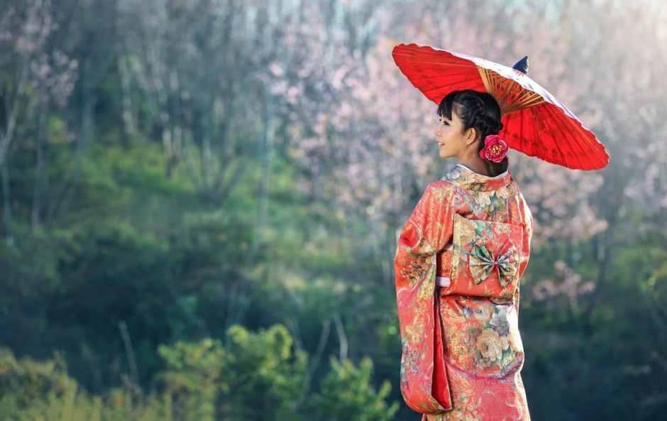 repurpose vintage kimono