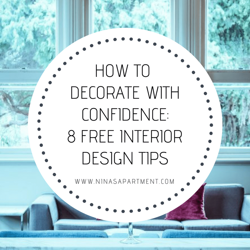 Eight free professional interior design tips