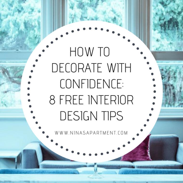 Eight free professional interior design tips