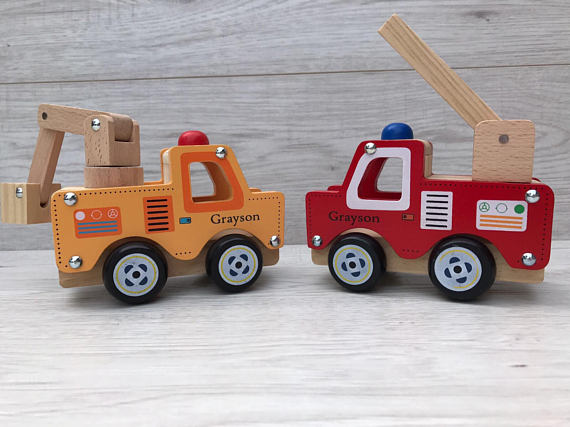 eco-friendly christmas gifts: wooden toys