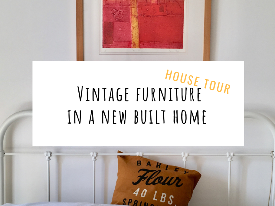 vintage furniture new home