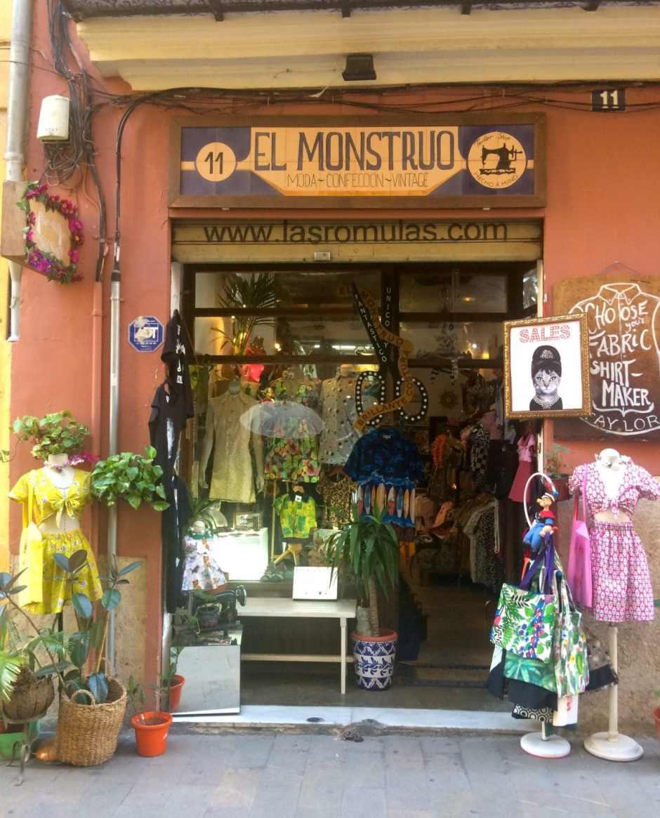 vintage shops valencia