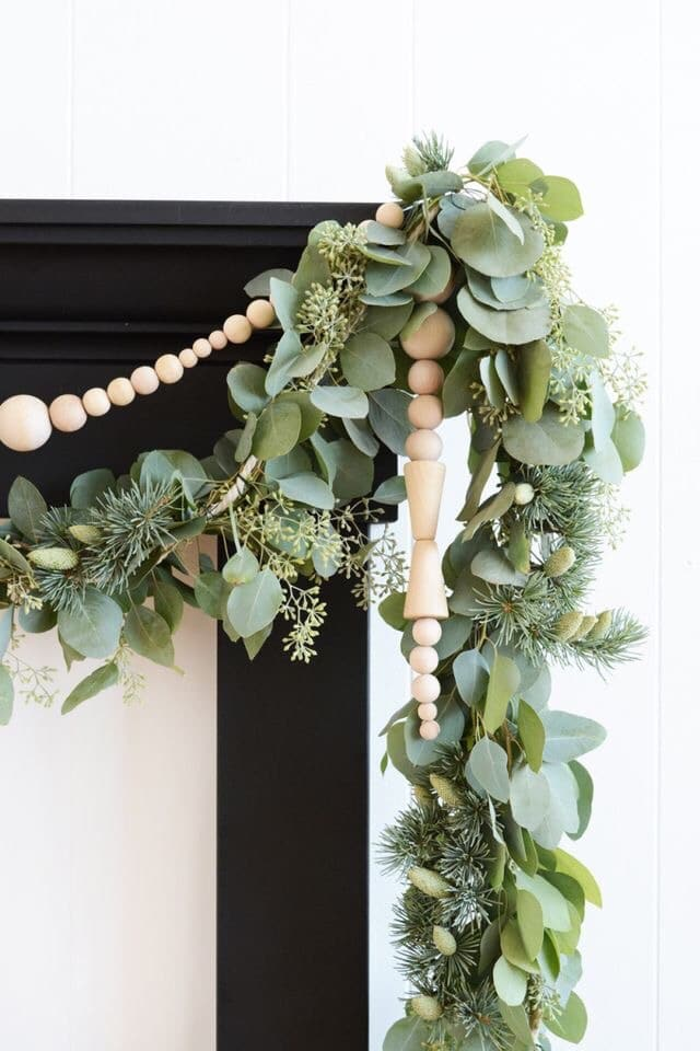 eco-friendly wreath and garland