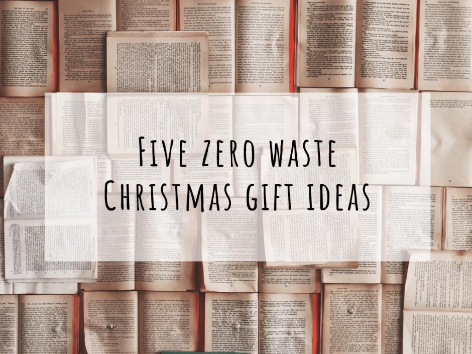 zero waste christmas ideas