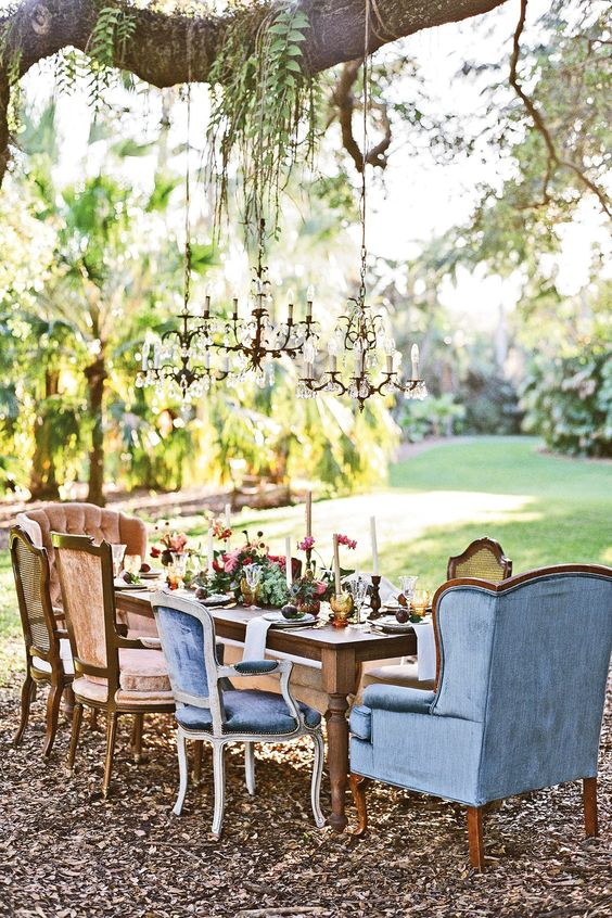 alternative garden party ideas