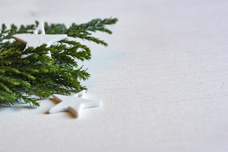 Christmas decor minimalist