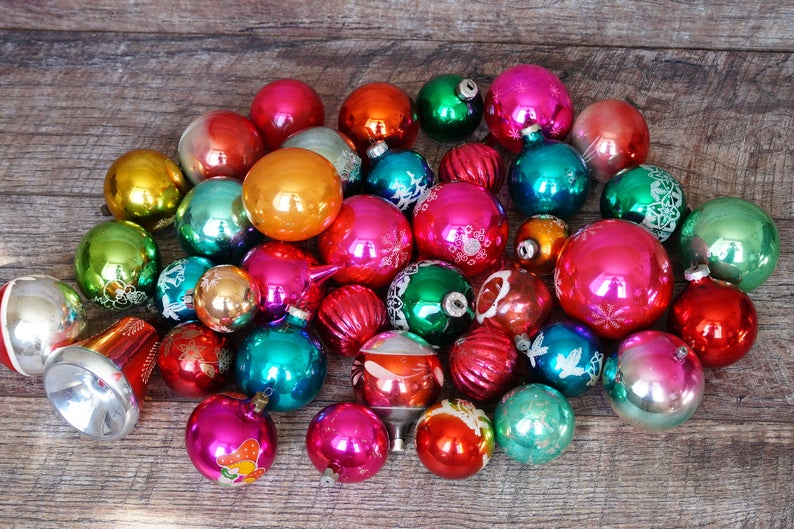 Boho chic christmas decor