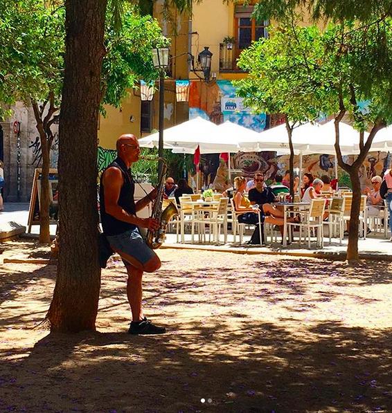 Valencia cafe culture