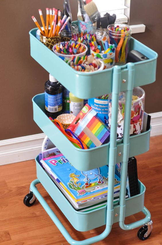 Easy storage ideas kids rooms