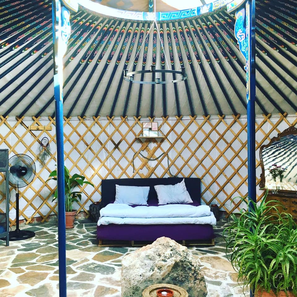yurt living in spain