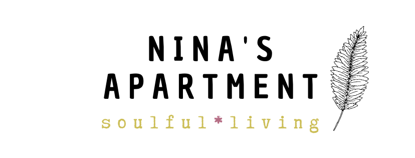 Nina's Apartment conscious living blog