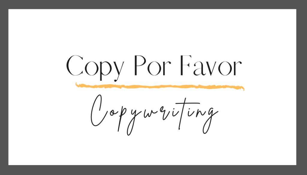 creative copywriting business